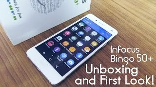 InFocus Bingo 50 PLUS Unboxing and First Impressions