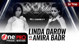 One Pride MMA #2: Linda Darow [Indonesia] VS Amira Badr [Mesir]