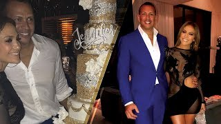 Are Jennifer Lopez & Alex Rodriguez Celebrating a Birthday or a WEDDING!?!