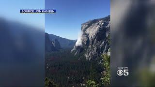One Dead, One Hurt In El Capitan Rockfall At Yosemite