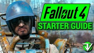 FALLOUT 4: Wasteland STARTER Guide! (Tips for a Head Start in Fallout 4!)