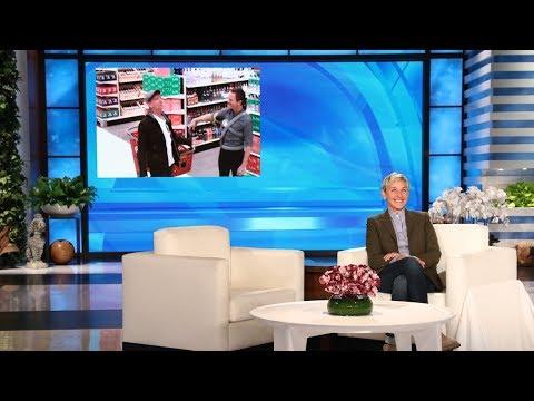 Ellen in Neil Patrick Harris Ear