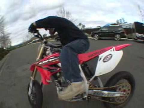 Honda CRF Stunts