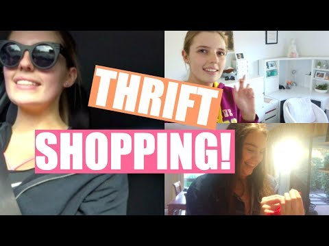 VLOG || THRIFT SHOPPING WITH KIRRA!
