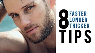 How To Grow Your Beard Faster And Longer (Grow Hair Faster &Thicker)