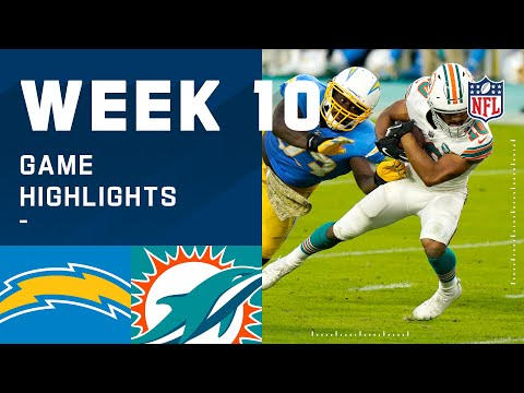 Chargers vs. Dolphins Week 10 Highlights NFL 2020
