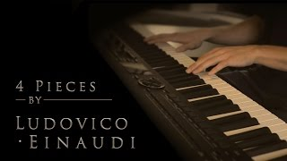 4 Pieces by Ludovico Einaudi | Relaxing Piano [20min]
