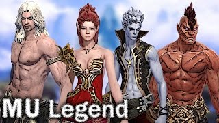 MU Legend - CLASSES and SKILLS preview