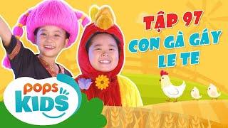 Mầm Chồi Lá Tập 97 - Con Gà Gáy Le Te   Nhạc thiếu nhi hay cho bé   Vietnamese Kids Song