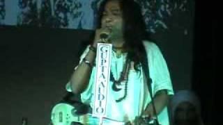 A S M Shafi Mondal from Bangladesh singing at Dui Banglar Baul Sango2