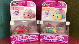 New Shopkins Cutie Cars Giveaway Winner Announcement, Motor Melon and Cupcake Cruiser