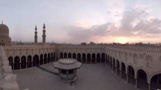 360 video: Sultan Al-Moayed Mosque, Cairo, Egypt