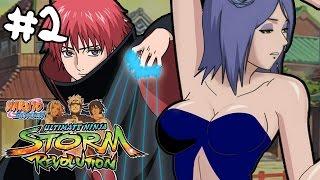 Sexy Konan vs Sasori Fight - Part 2 - Naruto Shippuden: Ultimate Ninja Storm Revolution