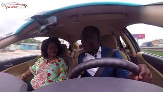 Obaapa Christy On Celebrity Ride With Zionfelix show