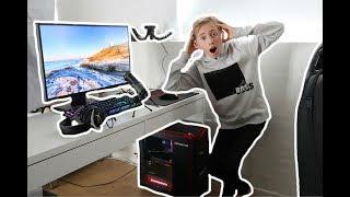 JEG FÅR EN NY PC! (SKETCH)