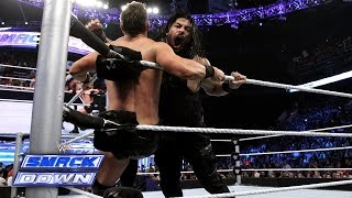 Roman Reigns vs. The Miz: SmackDown, Aug. 22, 2014