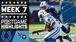 Colts vs. Titans (Week 7) | Game Highlights | NFL