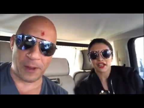 Xxx Mp4 Deepika Padukone Welcomes Vin Diesel In India At The Airport XXx Return Of Xander 3gp Sex