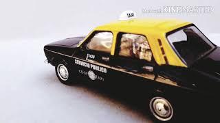 cinematica taxi de juguete