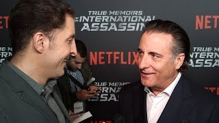 """Andy Garica at the """"True Memoirs of an International Assassin"""" Premiere Behind The Velvet Rope"""