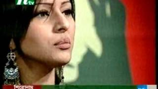 Bangladeshi model tinni chatting in ntv program     YouTube