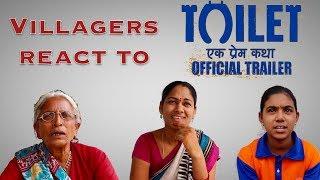 Villagers react to Toilet ek prem katha trailer