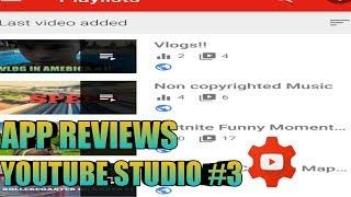 App reviews:YouTube Studio #3