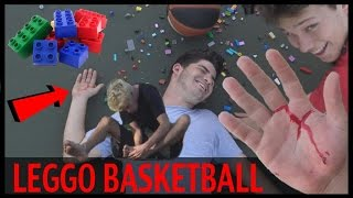 LEGO BASKETBALL GONE WRONG!!! ft. Jesserthelazer and Mobcity