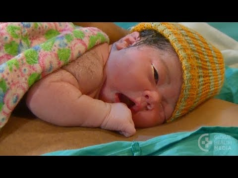 Breastfeeding in the First Hours After Birth (Tamil) - Breastfeeding Series
