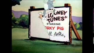 """Bugs Bunny: """"Woo Woo, the Hare-Um-Scare-Um Song"""" (1939)"""