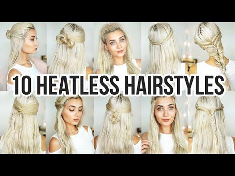 10 Heatless Back To School Hairstyles