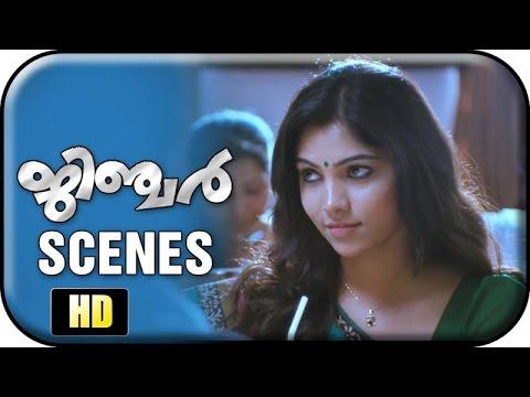 Ginger Malayalam Movie | Scenes | Muktha George meets Jayaram at his office | Sudheesh