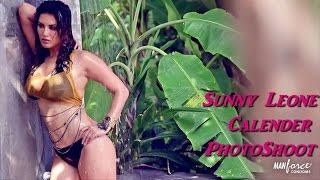 Sunny Leone Manforce Calendar Shoot