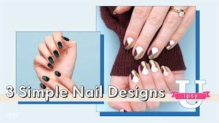 Simple Nail Art feat. December ipsy Glam Bag Polish | ipsy U