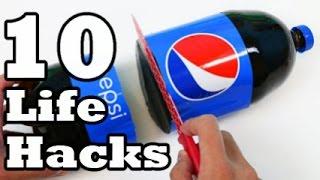 10 LifeHacks & Ideas With Plastic Bottles