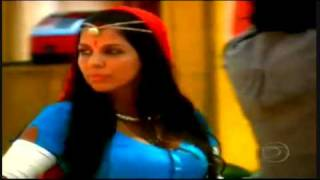 Komal flertando Durga