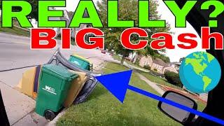 Make Money Recycling Scrap Metal on Garbage Day