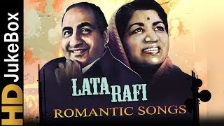 Mohammed Rafi Lata Mangeshkar Top 15 Romantic Songs Old Hindi Love Songs Jukebox