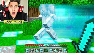 I FOUND DIAMOND STEVE IN MINECRAFT! (SCARY)