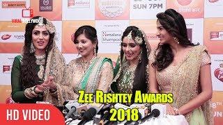 Monica khanna And Gunn Kansara At Zee Rishtey Awards 2018 | #ZeeAwards2018
