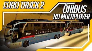 Euro Truck Simulator 2 - Comboio de Ônibus no Multiplayer