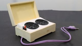 How to Make Mini Portable Speakers