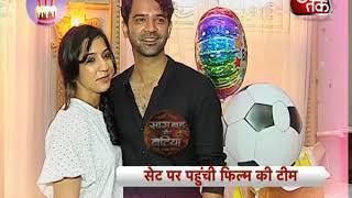 Barun Sobti's birthday Celebrations with wife Pashmeen Manchanda