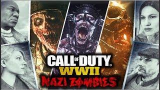 ARMAS TESLA, CLASES DE ZOMBIES, PERSONALIZACIÓN Y MUCHO MÁS! || NAZI ZOMBIES (Call of Duty WWII)