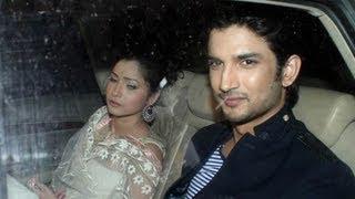 Sushant Singh Rajput & Ankita Lokhande @ Shahrukh Khan's Eid Party !
