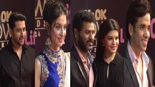 Jacquelin, Prabhudeva, Aftab ,Tusshar On Red Carpet Of Life OK Now Awards 2014