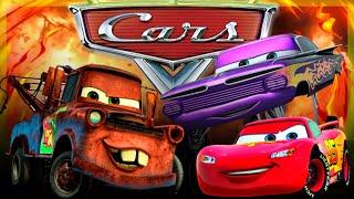 CARS FRANÇAIS - Quatre Roues - Les Bagnoles - Disney Film pour enfants - Movie - McQueen & Martin 4K