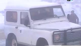 معاناة سالكي الطريق الرابطة بين الحسيمة وشفشاون بسبب التساقطات الثلجية