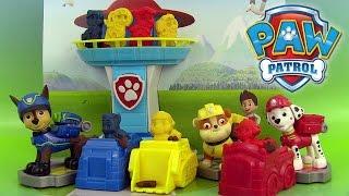 Paw Patrol Play Doh Mold Playset Pat' Patrouille Pâte à modeler Patrulla de Cachorros