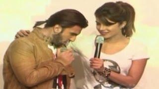 Ranveer Singh CAUGHT staring at Priyanka Chopra